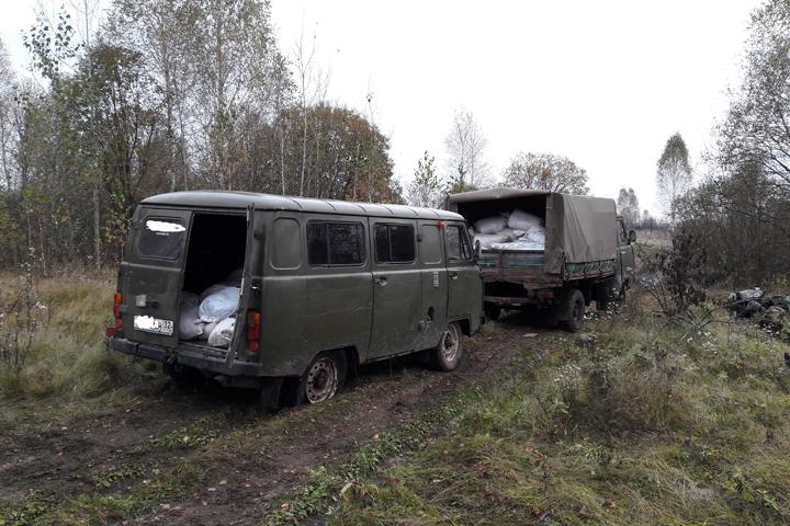 Брянские пограничники открыли огонь помашинам, перевозившим 4 тонны мяса с Украинского государства
