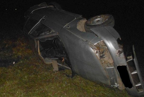 Под Рязанью опрокинулась «десятка», шофёр умер