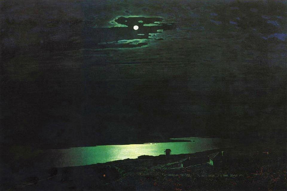 Картина Золотая осень ИЛевитана 1895 г Описание