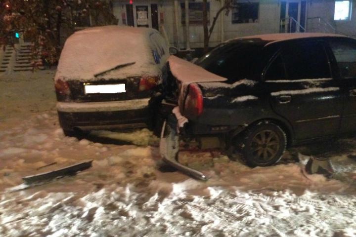 ВУфе пешеход пострадал в итоге наезда «Акцента» на«Матиз»