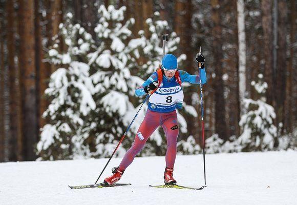 Биатлонистка Загоруйко одолела впервой контрольной тренировке сборной Российской Федерации