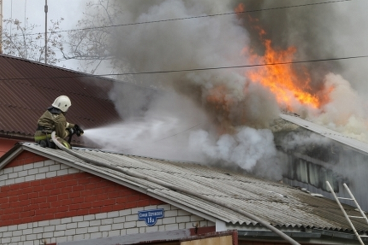 Утром потушили пожар вквартире наСумской