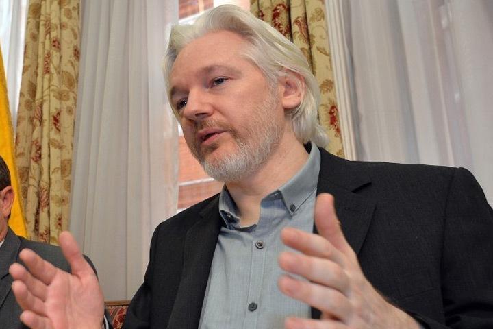 Основатель Wiki Leaks Джулиан Ассанж