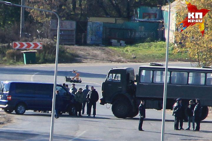 """Двое террористов были ликвидированы в жилом микрорайоне """"Цветы"""" 23 октября."""