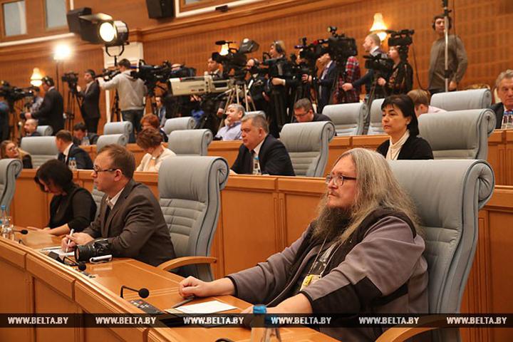 Лукашенко: «Мы самая свободная страна в плане интернета». Фото: БелТА.