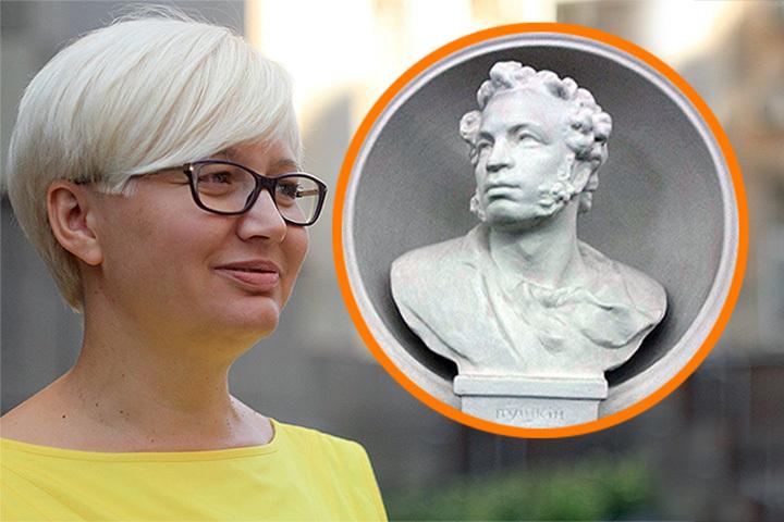 Детская писательница Лариса Ницой предложила «аккуратненько спилить» в киевском метро бюсты Ломоносову, Пушкину и Горькому.