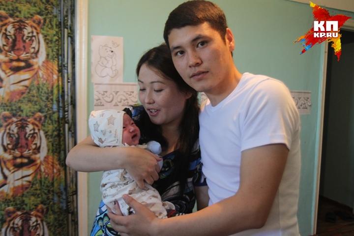 Этого малыша, родившегося накануне юбилея города, назвали Иркутом