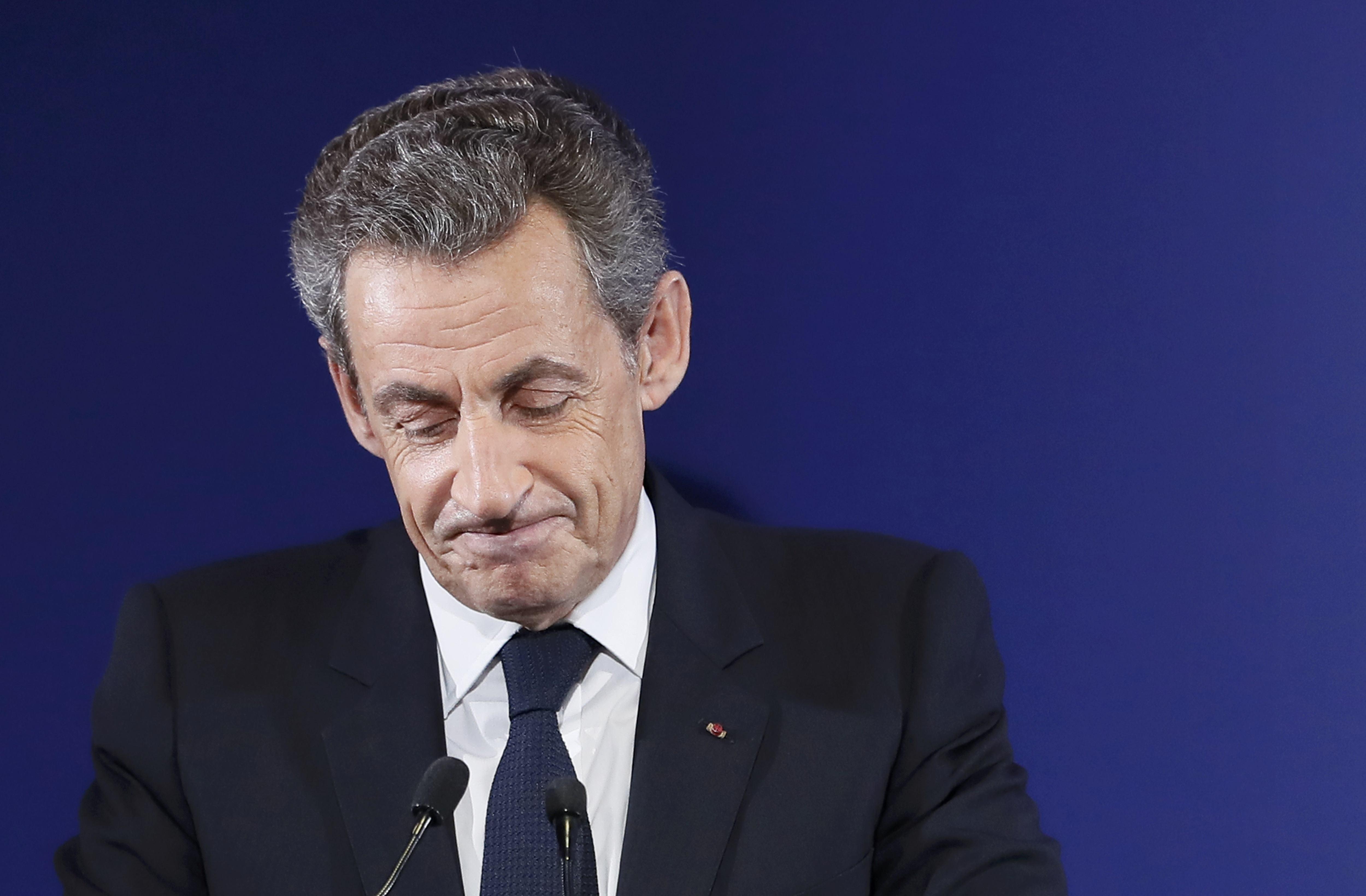 Николя Саркози покидает большую политику.