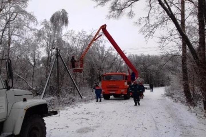 Специалисты мобильных бригад вернулись домой после успешной ликвидации последствии природной стихии в Калужской области