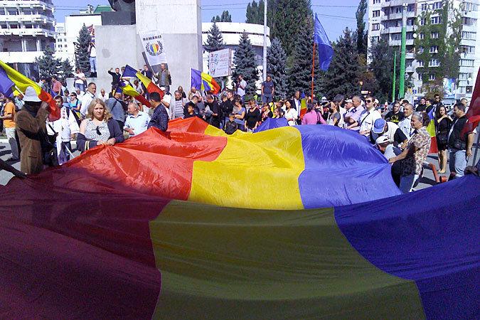 Если верить Бэсеску, число унионистов в Молдове растет как на дрожжах