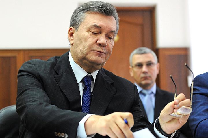 Виктор Янукович ответил на вопросы киевского суда.