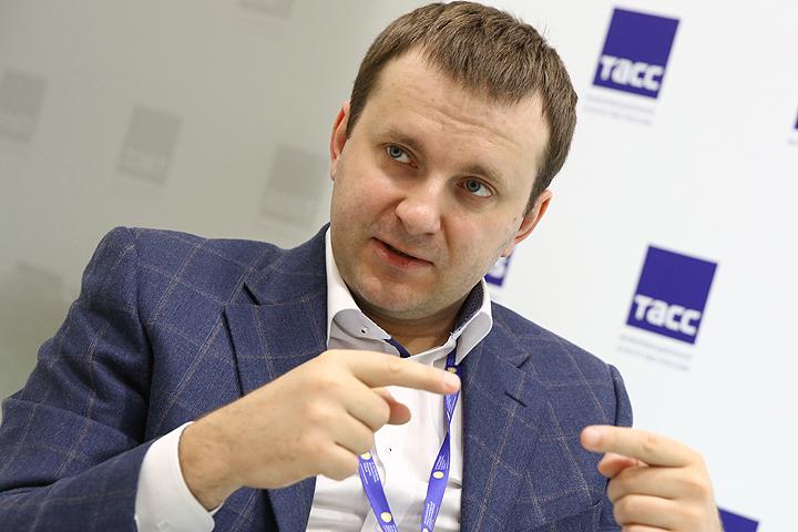 Максим Орешкин. ФОТО Александр Рюмин/ТАСС