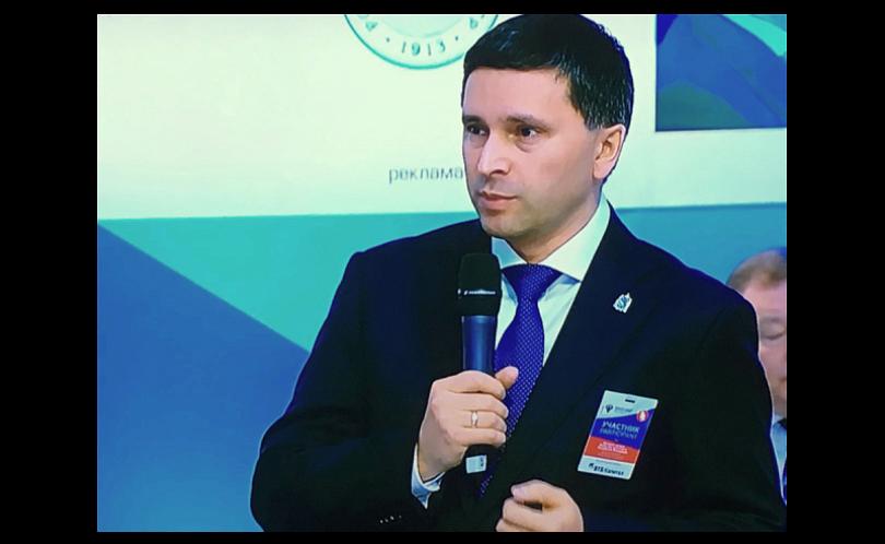 Руководитель Ямала представил проект «Энергия Арктики» на«Транспортной неделе» в столице России