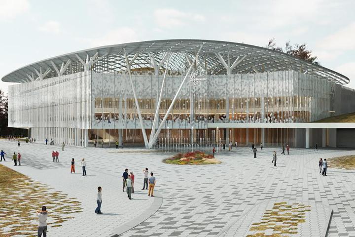 На международном культурном форуме в Санкт-Петербурге представлен проект новой столичной филармонии.