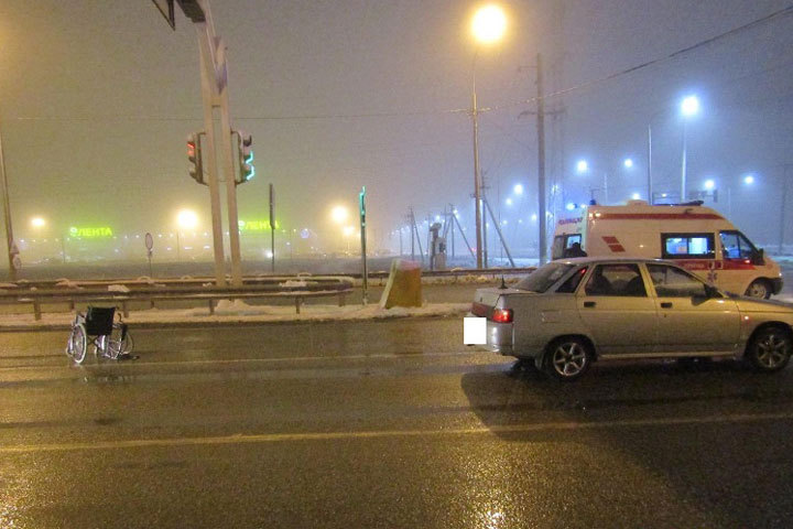 ВСтаврополе шофёр сбил инвалида