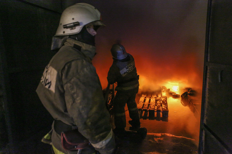 ВТатарстане впроцессе пожара мужчина спрыгнул со 2-го этажа