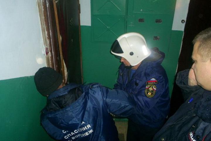 Уворонежцев захлопнулась дверь вквартиру, где работала газовая плита