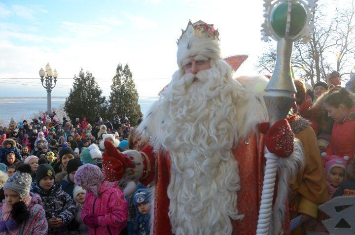 ВЕкатеринбург приехал дедушка Мороз изВеликого Устюга— обычное чудо