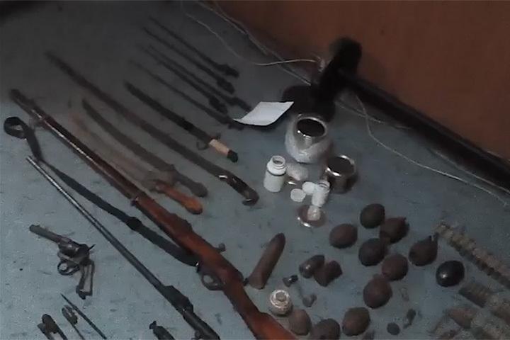 Гражданин Кемеровской области сохранял оружие, найденное наместах сражений