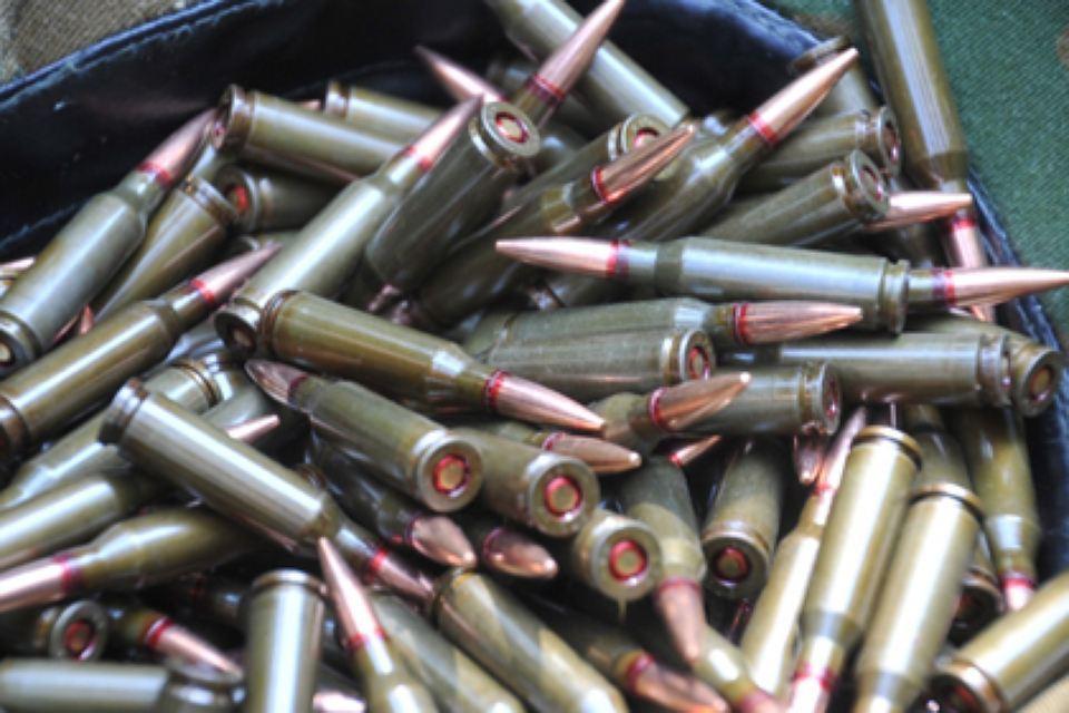 Петербуржец отыскал вВеселом Поселке тысячу патронов исдал их милиции
