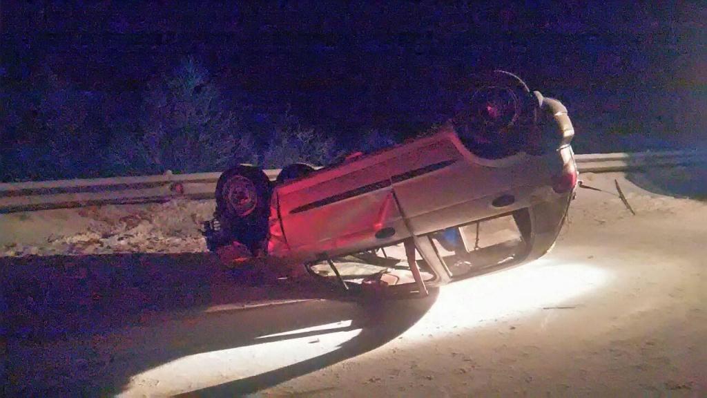 ВБашкирии автомобиль врезался вбетонное ограждение. Пассажирка погибла