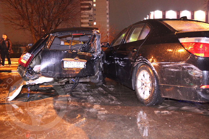 Нетрезвый шофёр на Опель протаранил 10 машин, есть пострадавшие— Солигорск