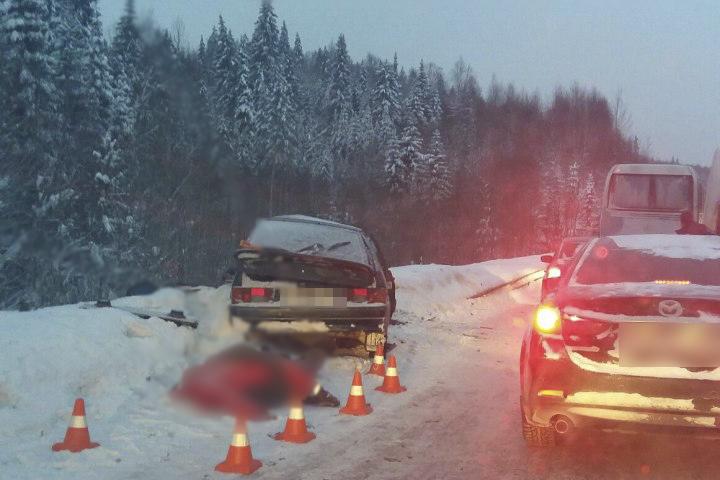 Натрассе Пермь— Березники случилось  ДТП савтобусом: один человек умер