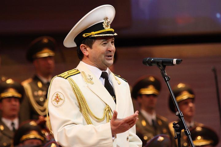 ГимнРФ висполнении ансамбля Александрова прозвучал наитальянскомТВ
