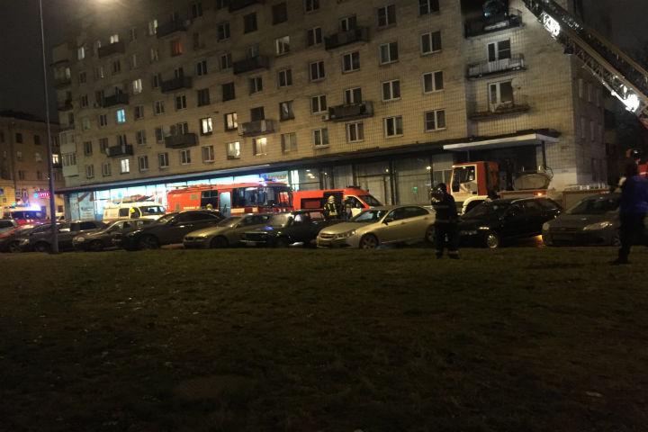 НаГаванской улице тушили сверепый пожар по №1 бис