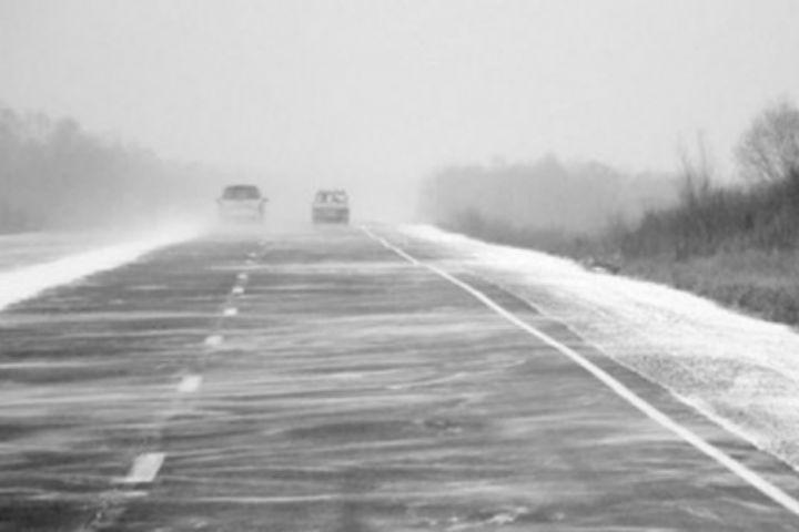 ВАлтайском крае перекрыты 4 участка дорог в 8-ми районах