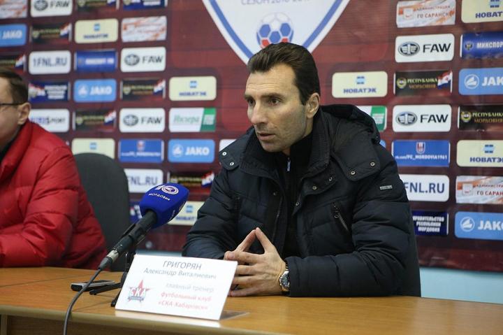 У «Анжи» появился новый тренер— Александр Григорян