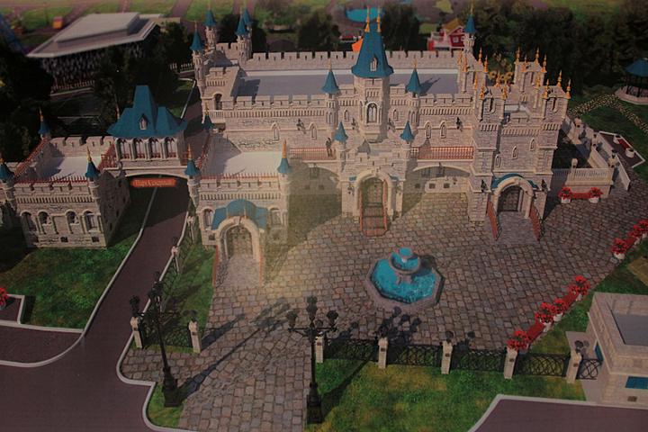 Замок иарена для рыцарских турниров появится вХабаровске