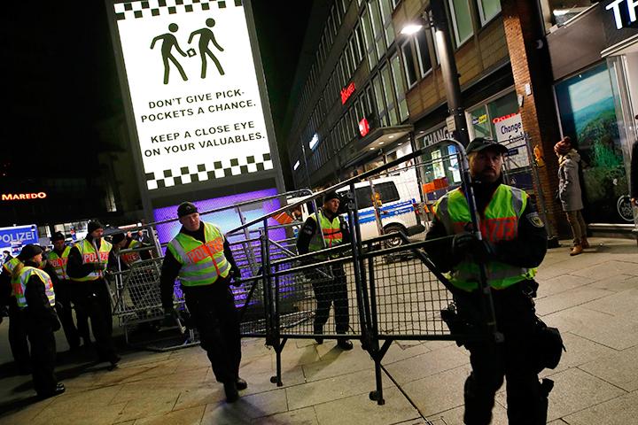 Cтолицу ФРГ на Новый год патрулировало 1700 стражей порядка