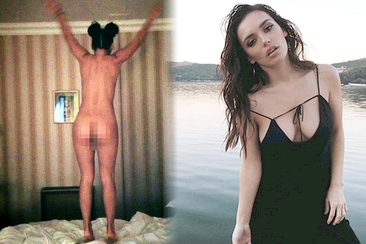 В инстаграме Ольги Серебкиной появился достаточно откровенный снимок