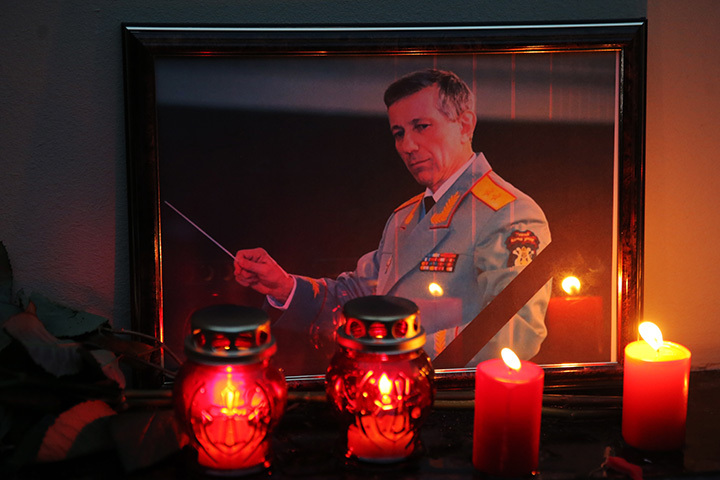 Под Владимиром похоронили худрука ансамбля Александрова Валерия Халилова