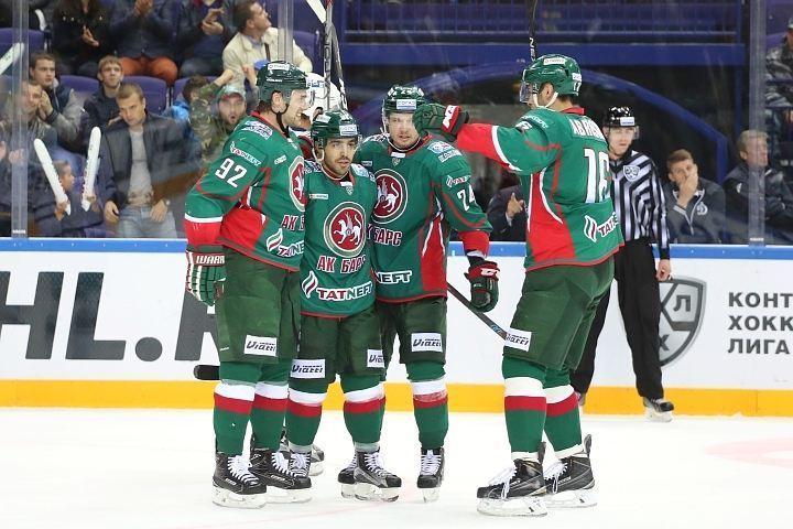 Столичное «Динамо» проиграло «АкБарсу», прервав серию из 6-ти побед вКХЛ