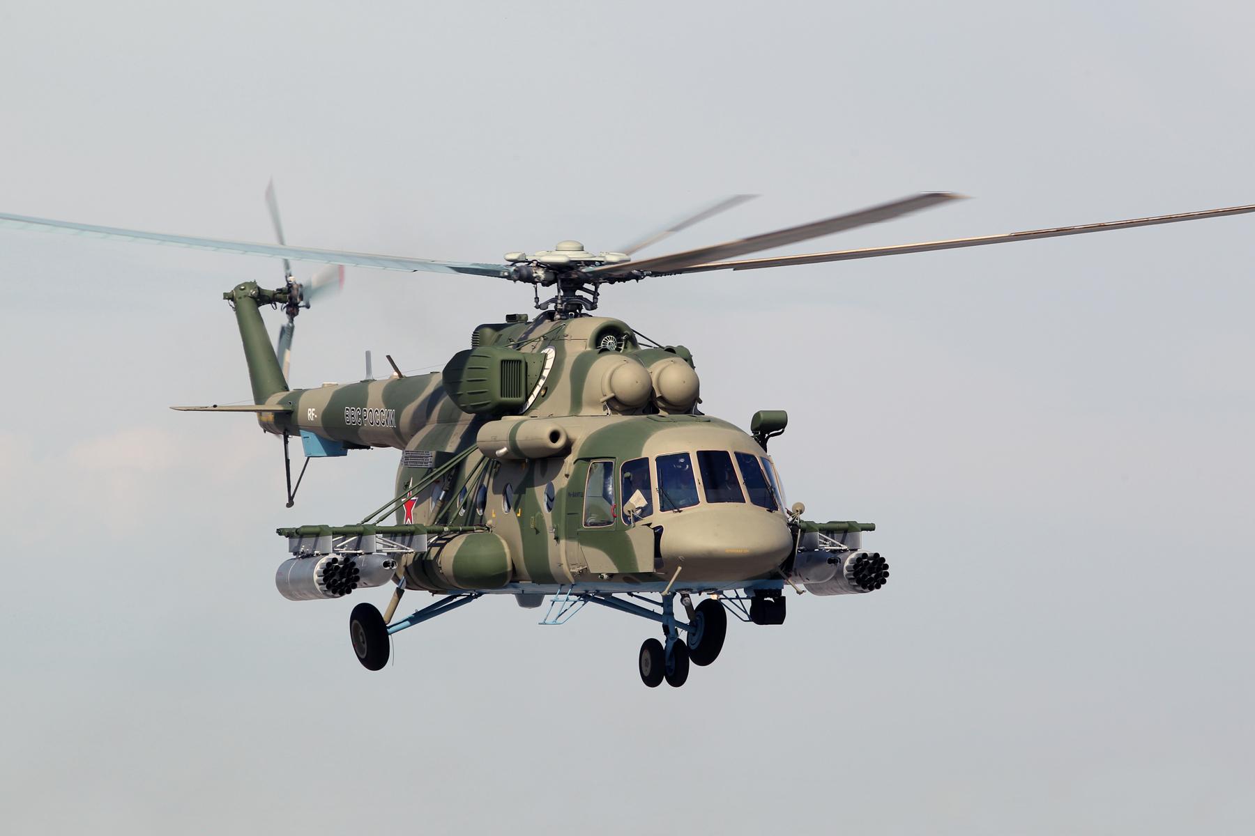 «Вертолеты России» поставят Росгвардии три Ми-8АМТШ вконце текущего года