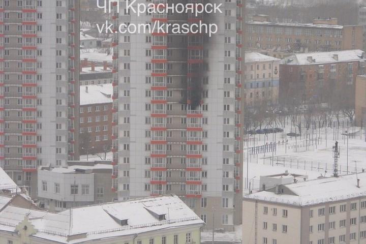 ВКрасноярске загорелось общежитие СФУ