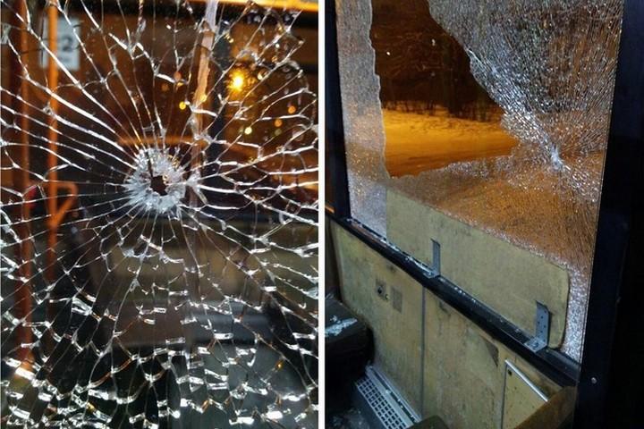 ВКрасноярске направобережье обстреляли маршрутку