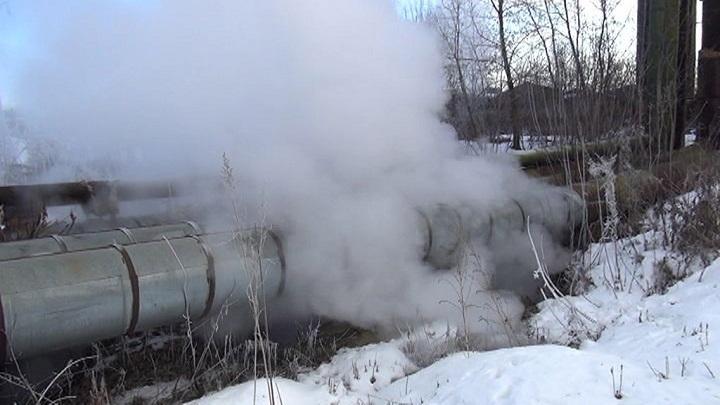 ВВоткинске впожаре натеплотрассе погибли двое неизвестных