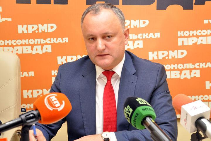 Президент Молдавии предложил НАТО признать нейтралитет собственной страны