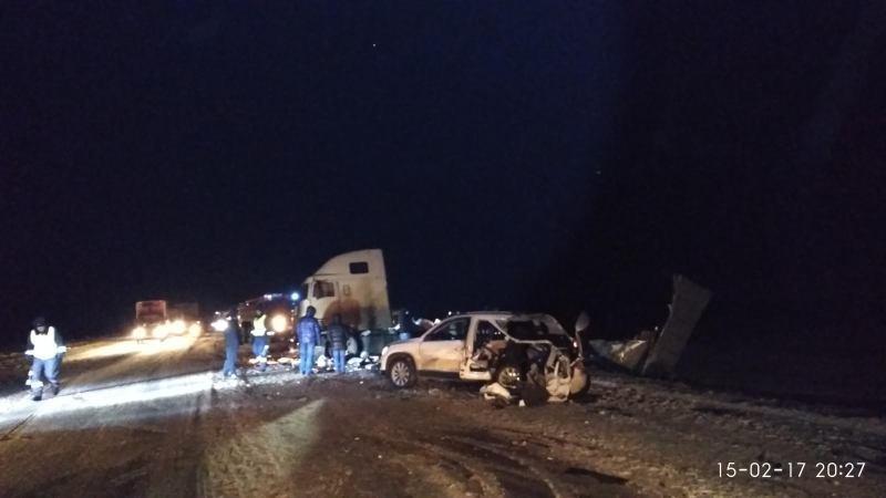 ВРяжском районе случилось массовое ДТП с фургоном, умер человек