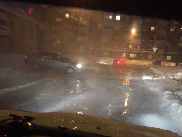 ВУфе дороги вновь «потекли»— коммунальная авария наулице Коммунаров
