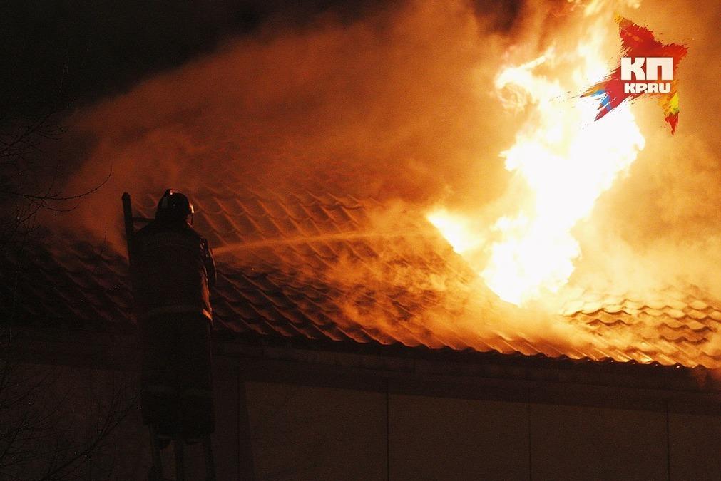 ВЖелезнодорожном районе изпожара спасены 5 человек