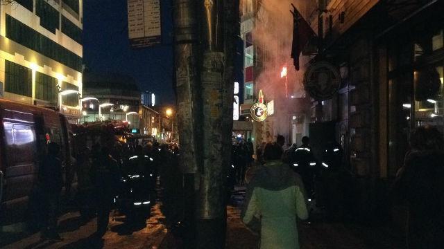 ВКраснодаре вподвале бара наКрасноармейской произошел пожар