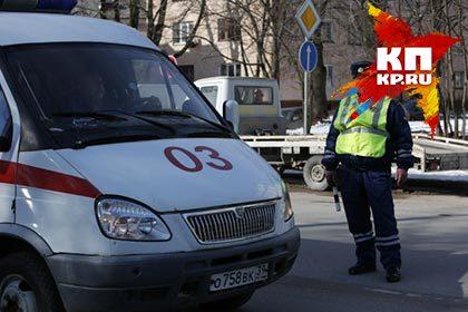ВОмской области шофёр убежал сместа ДТП вИндейке