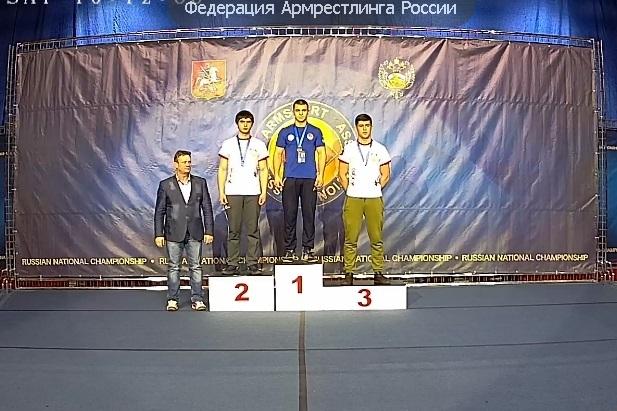 Спортсменка изЧР привезла медали с главенства Российской Федерации поармрестлингу
