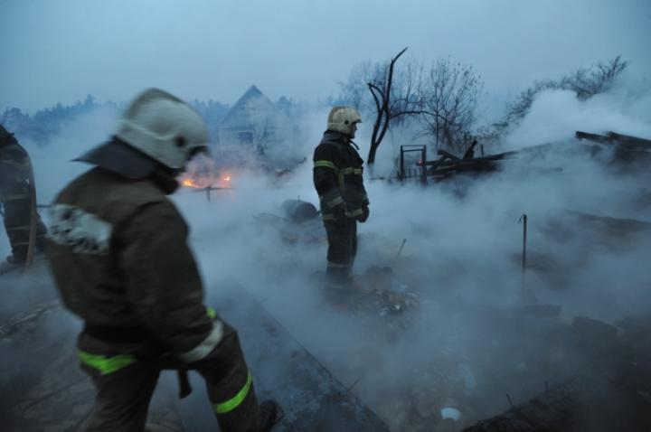 Двое детей живьем сгорели втомской деревне