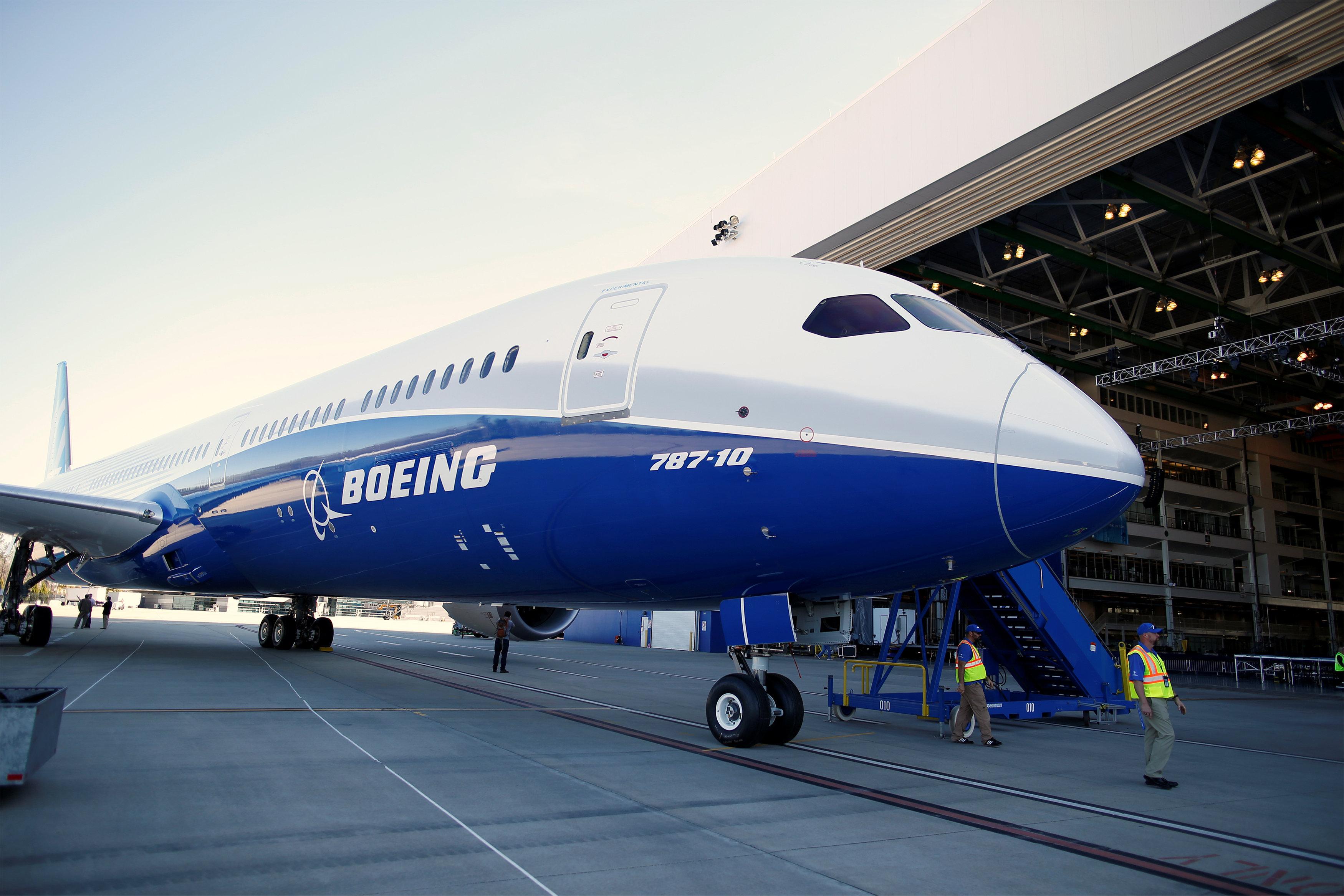 Boeing откроет свой 1-ый завод вевропейских странах
