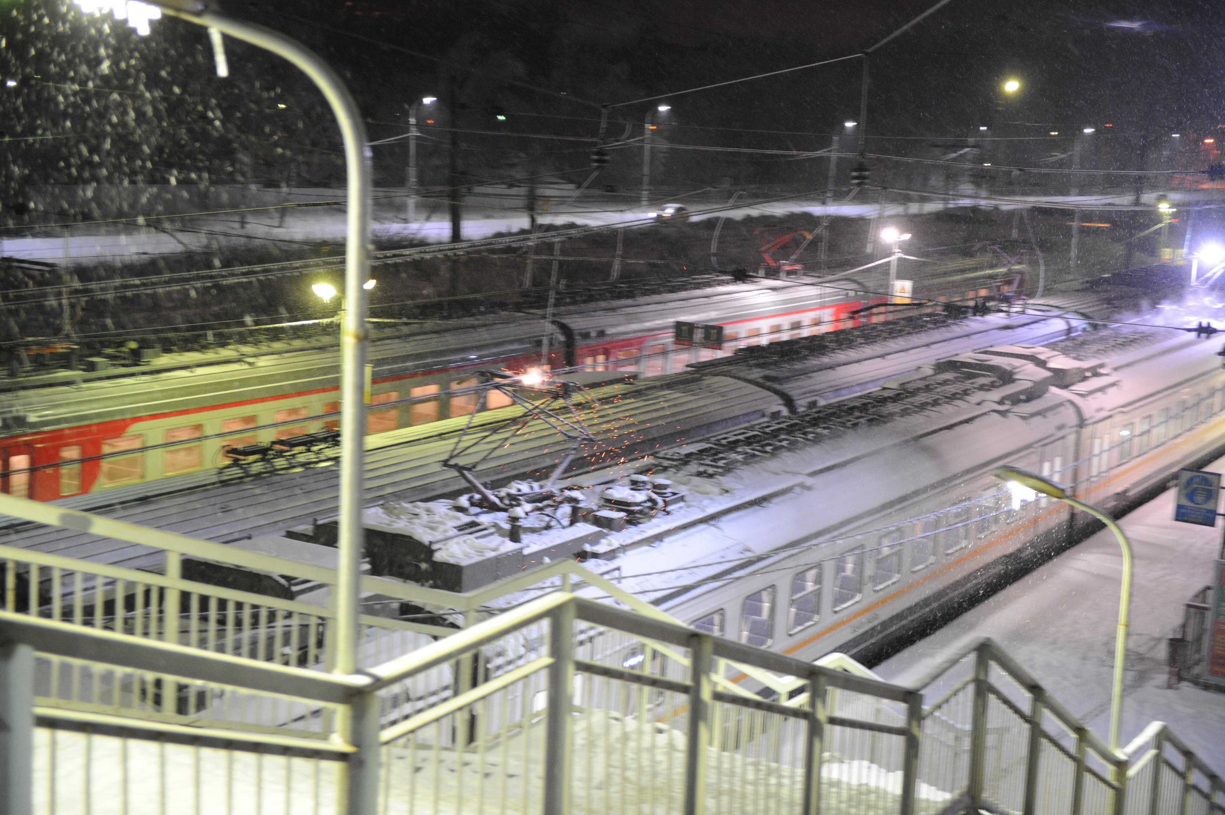 Мужчина умер под колесами поезда устанции «Лось» в столицеРФ